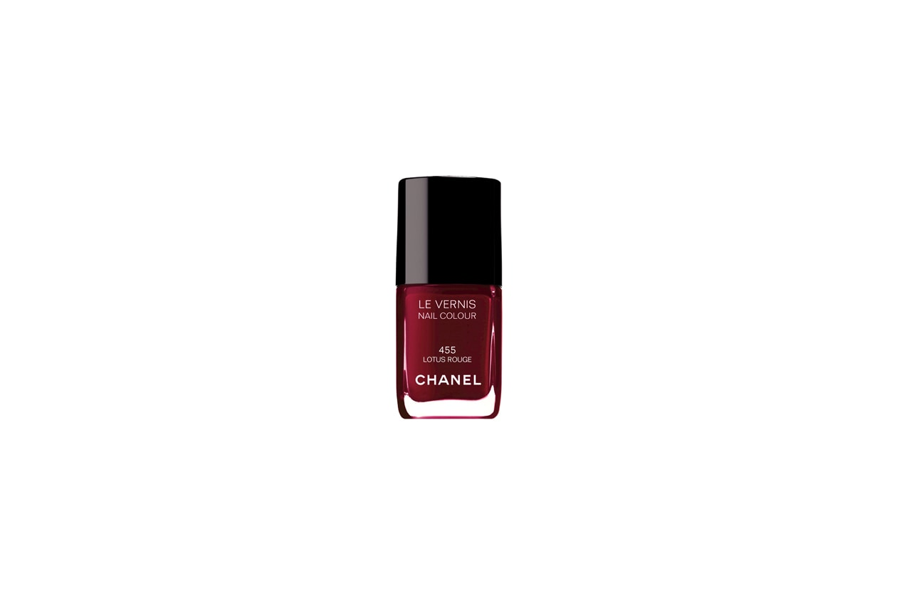 Le Vernis Chanel Lotus Rouge
