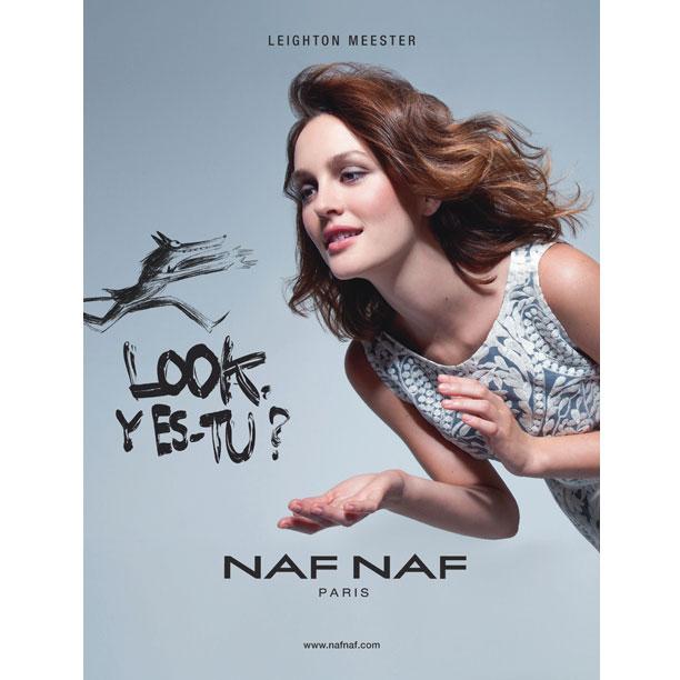 Leighton Meester: la nuova testimonial NAF NAF