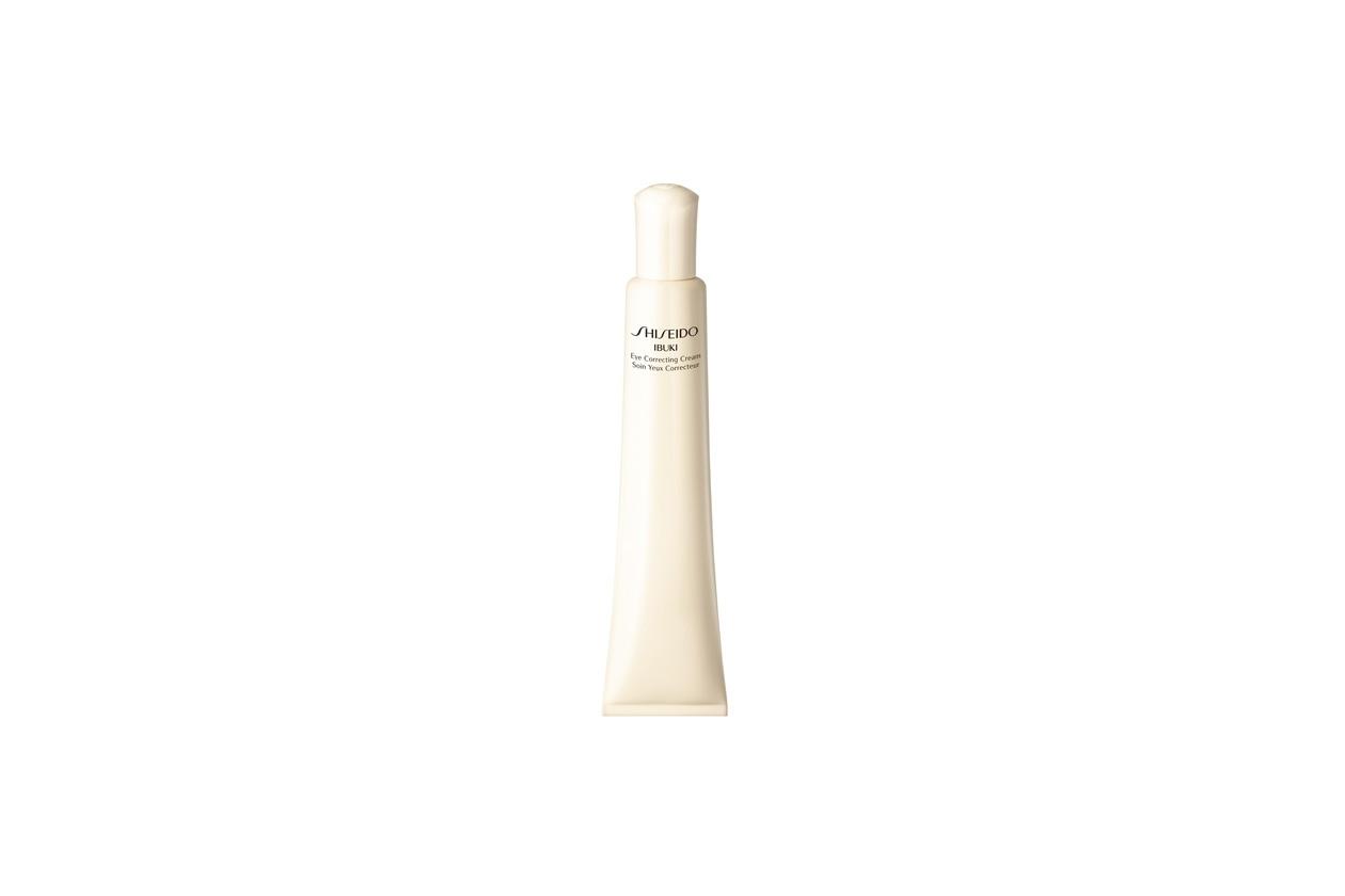 MASSIMA IDRATAZIONE: dalla linea Shiseido Ibuki, l'Eye Correcting Cream è una crema contorno occhi rinfrescante