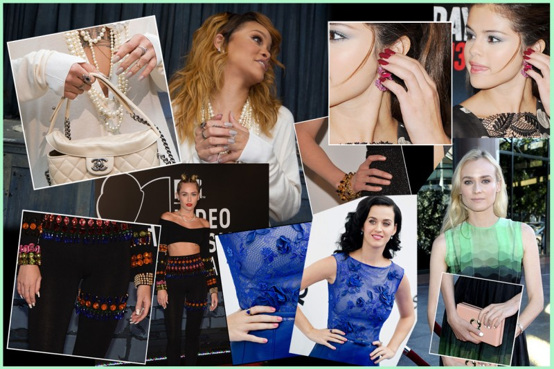 Nude, dark, bianche: per la manicure le star guardano con interesse le tendenze. La selezione di Grazia.IT