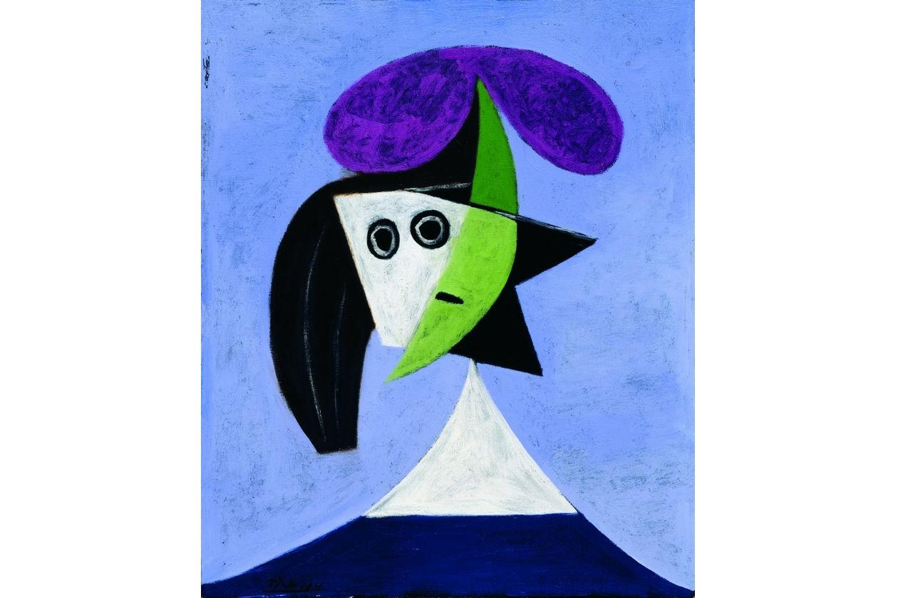 Pablo Picasso; Palazzo Reale; il volto del novecento; milano; centre pompidou; donna con cappello