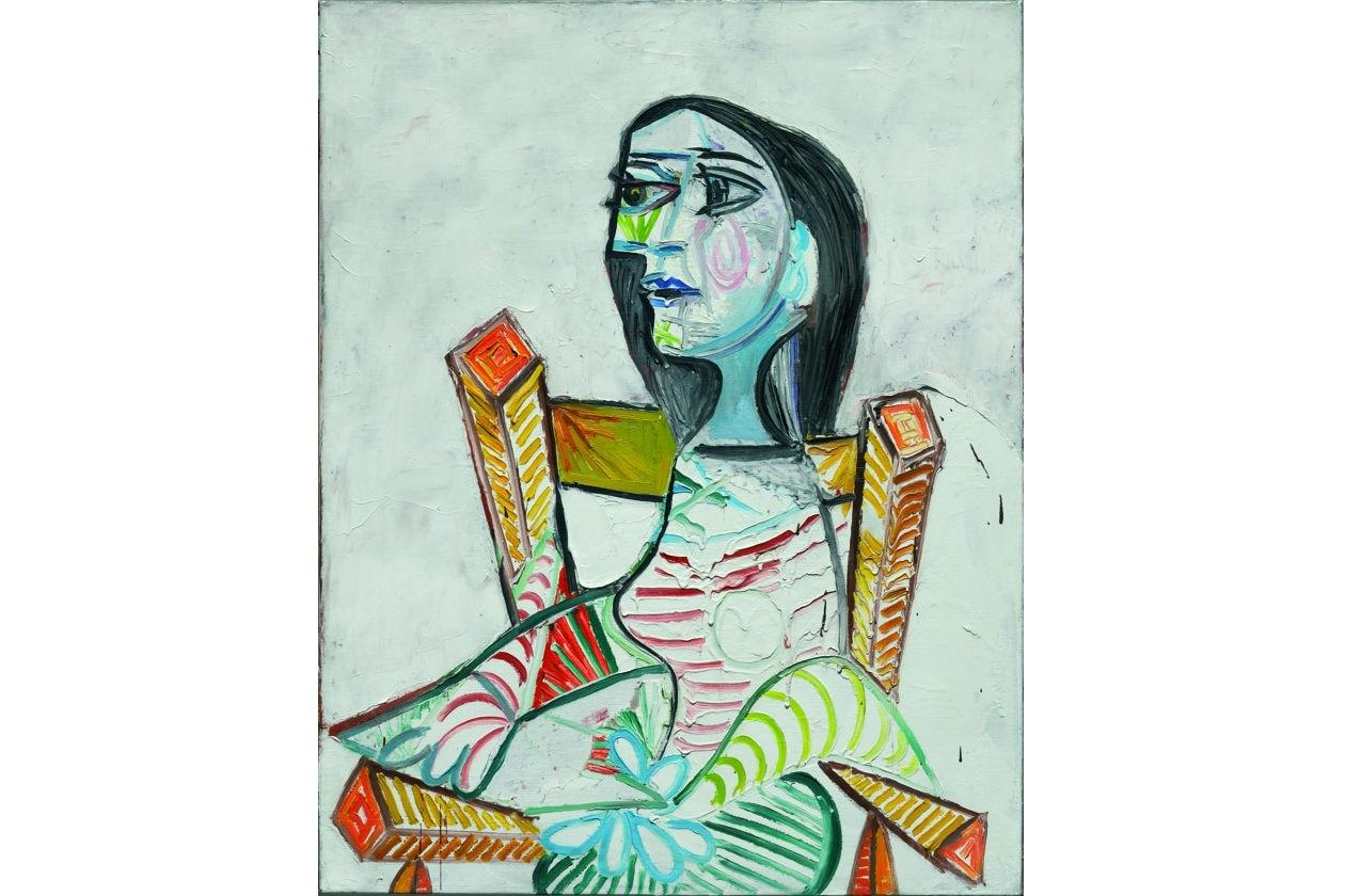 Pablo Picasso; Palazzo Reale; il volto del novecento; milano; centre pompidou; ritratto di donna; donne di picasso