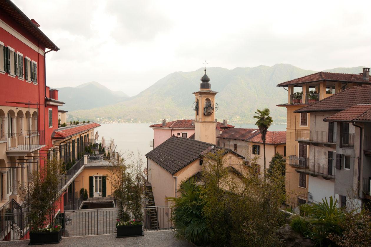 Panorama sul Lago Maggiore