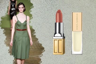 STILE LIBERTY: linee déco per il vestito di Jonathan Saunders. Pack vintage per Elizabeth Arden e Dolce & Gabbana