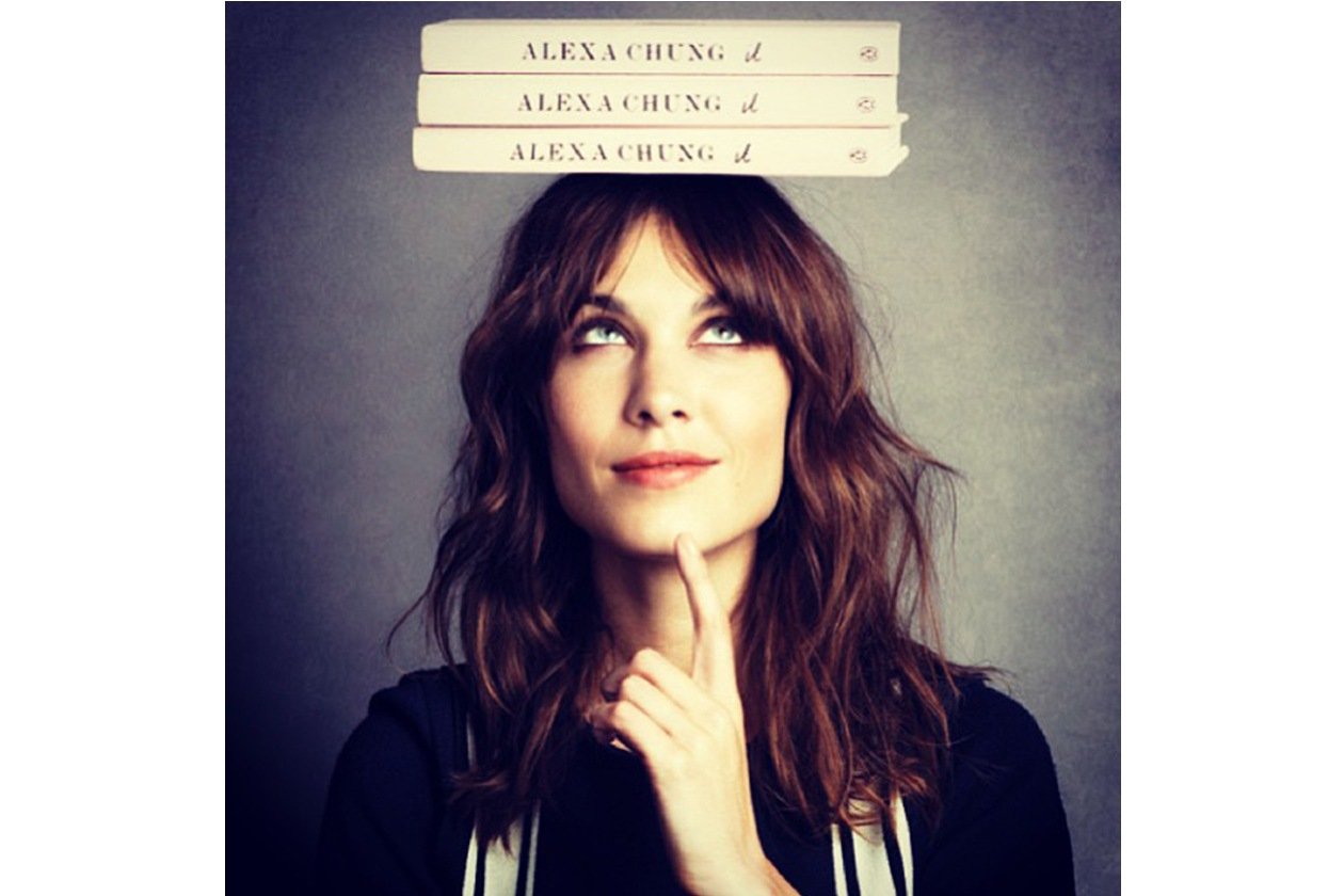 Alexa Chung: «Will be talking with Andrew Bevan»
