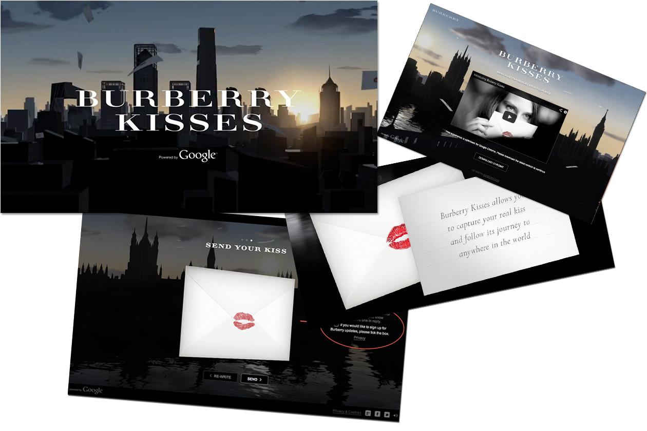 Fashion Burberry Kisses