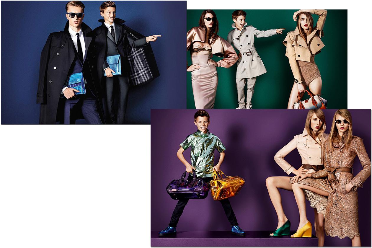 Fashion Burberry Romeo Beckham