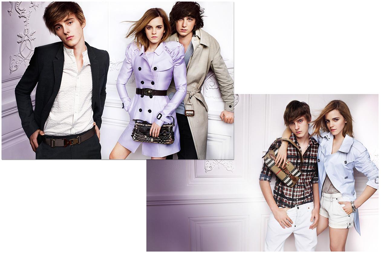 Fashion Burberry Emma Watson