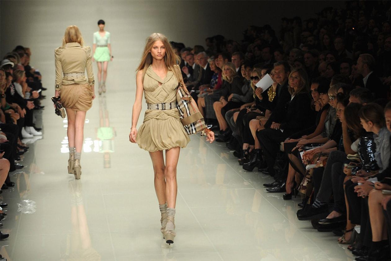 Fashion Burberry SS 2010