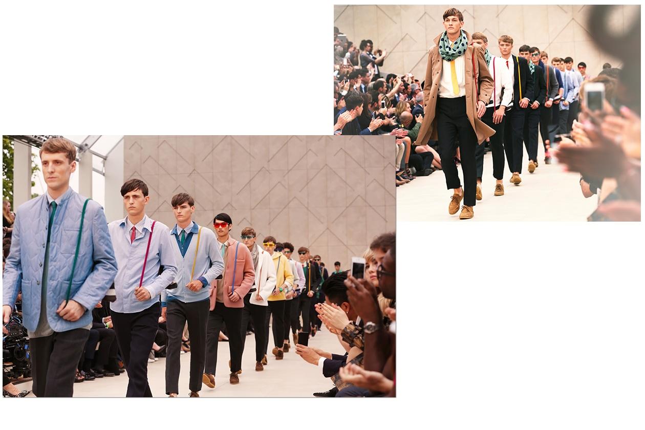 Fashion Burberry Men SS 14