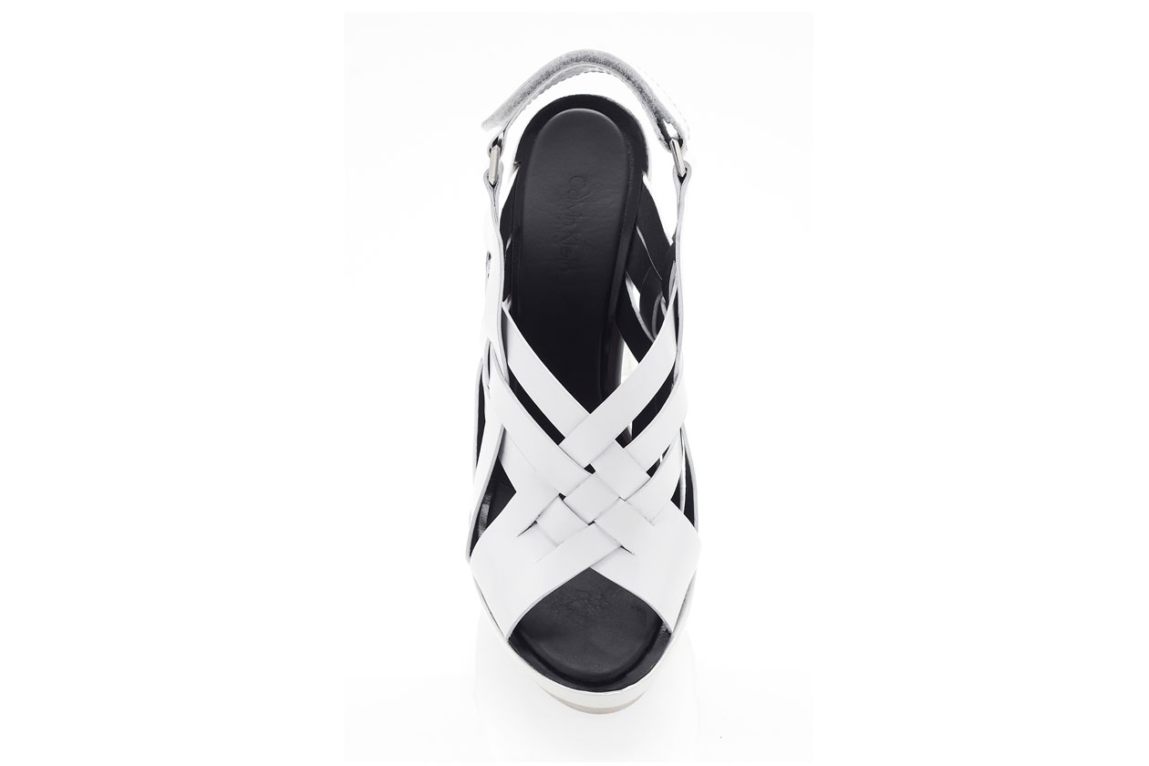shoes bianco ck