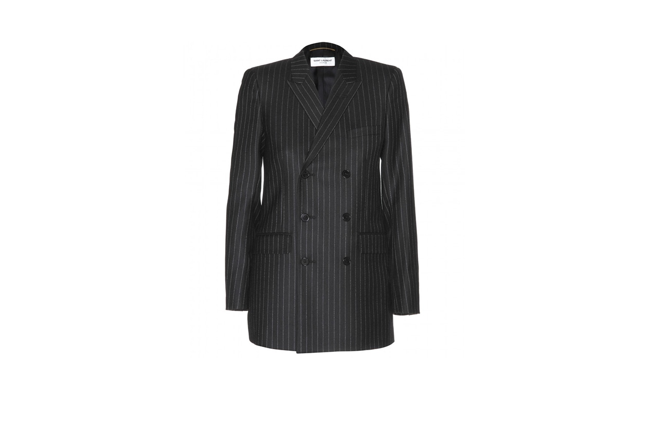 Fashion Toplist Gessato blazer saint laurent