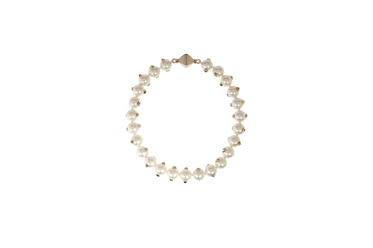 Fashion Toplist Gessato collana perle valentino