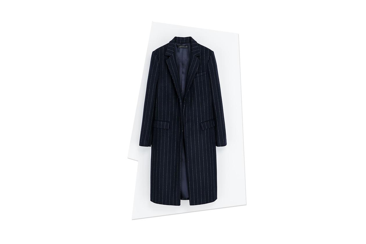 Fashion Toplist Gessato cappotto zara