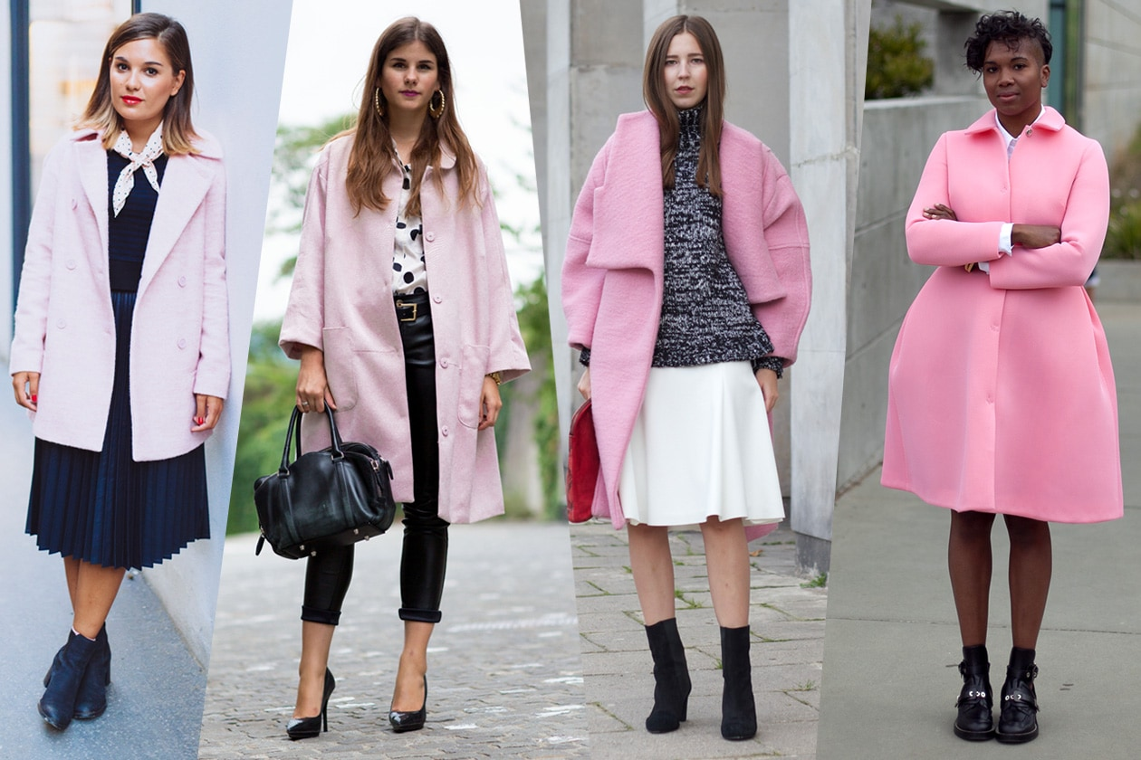 Le fashion blogger amano il rosa