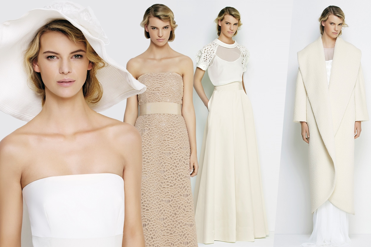 Favoloso Max Mara Bridal Fall 2014: una sposa d'inverno super chic - Grazia.it SJ35