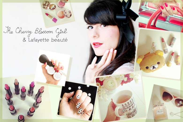 Alix Cherry del blog The Cherry Blossom Girl: i suoi beauty look e la sua linea di make up Lafayette