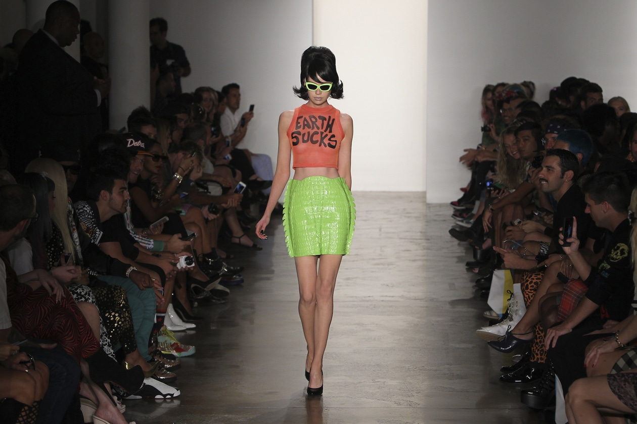 Jeremy Scott MADE Fashion Week