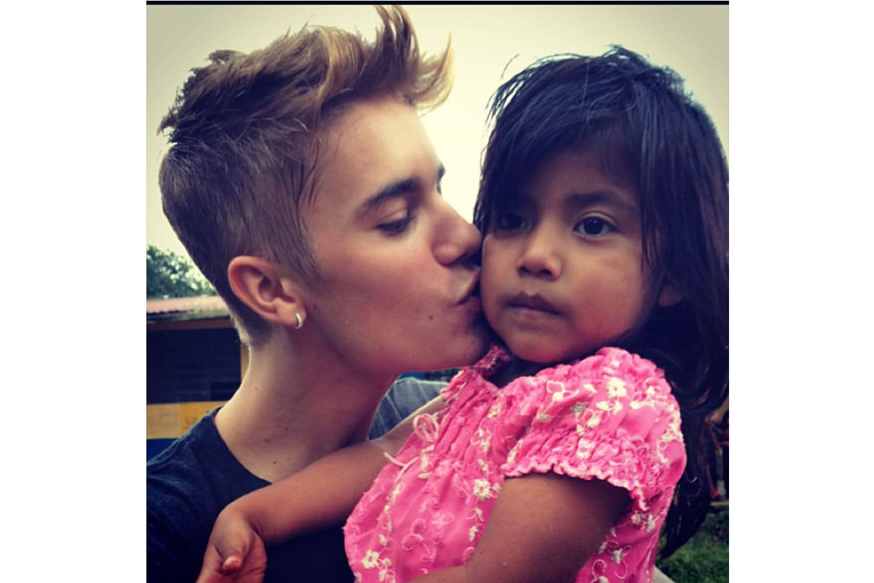 Justin Bieber: «This little angel»