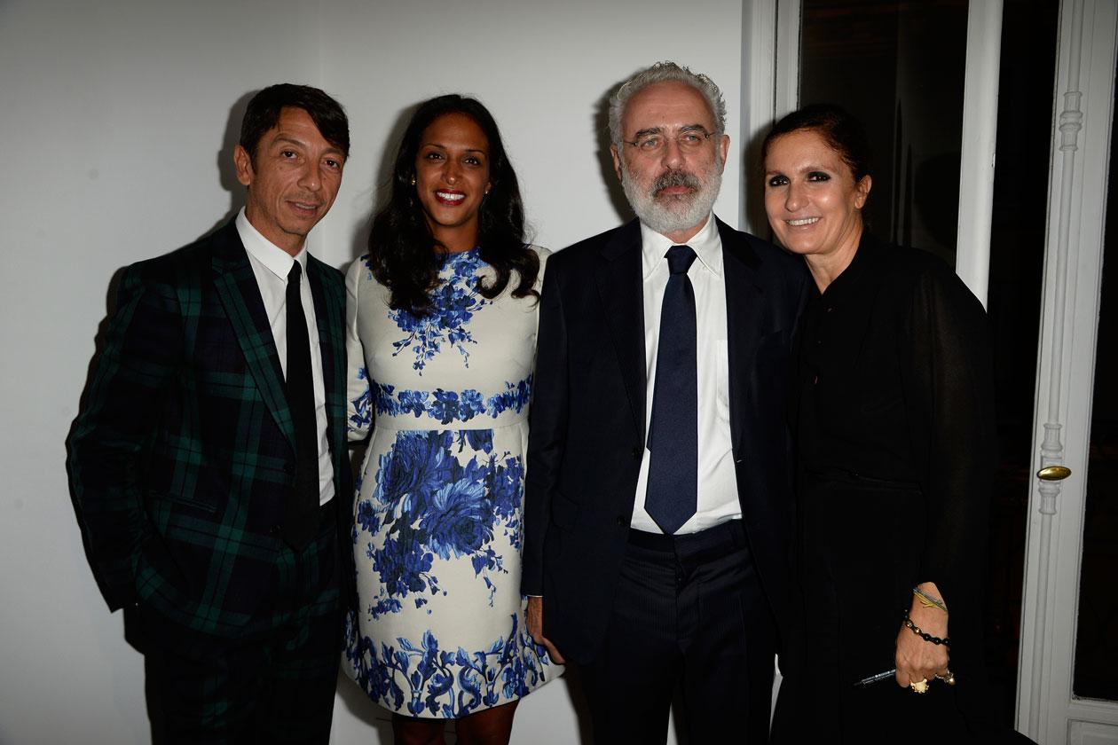 Maria Grazia Chiuri,Pierpaolo Piccioli, Francesco Bonami, Vanessa Riding