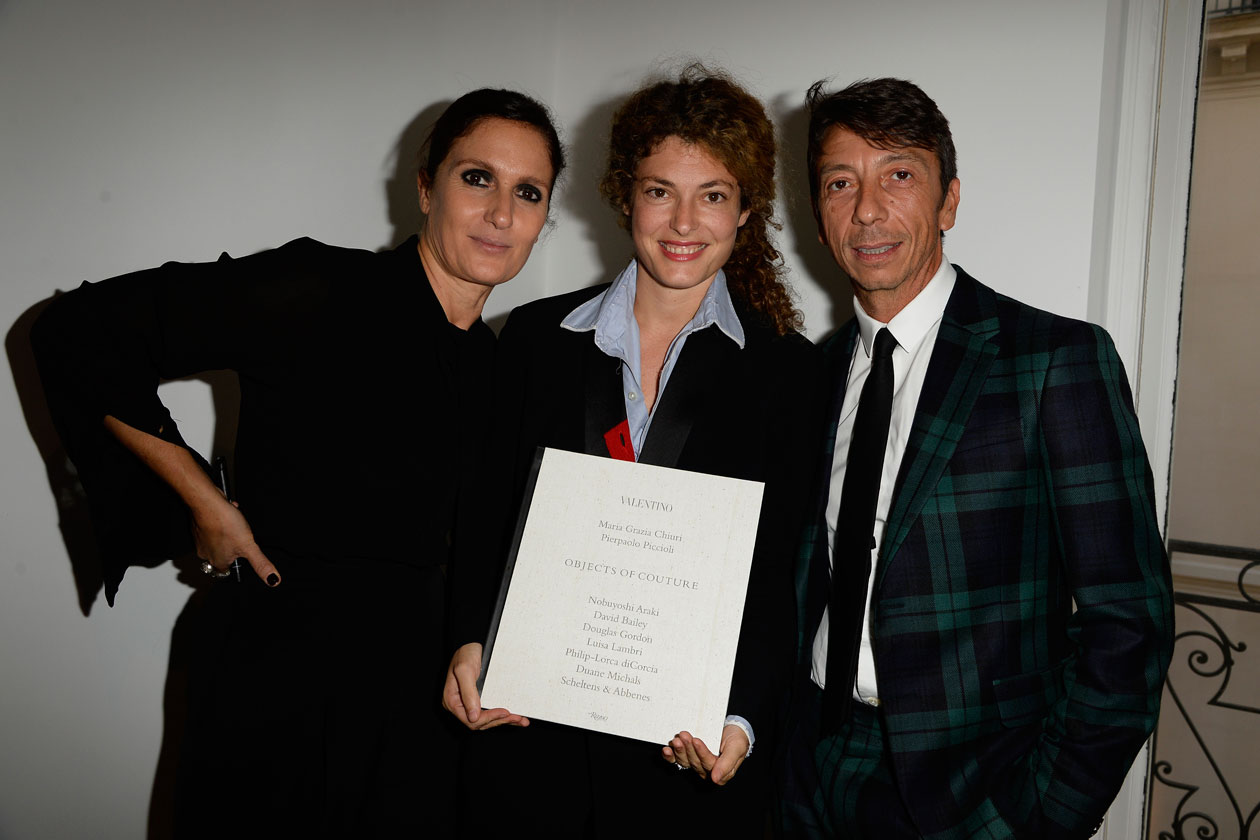 Maria Grazia Chiuri;Ginevra Elkann;Pierpaolo Piccioli