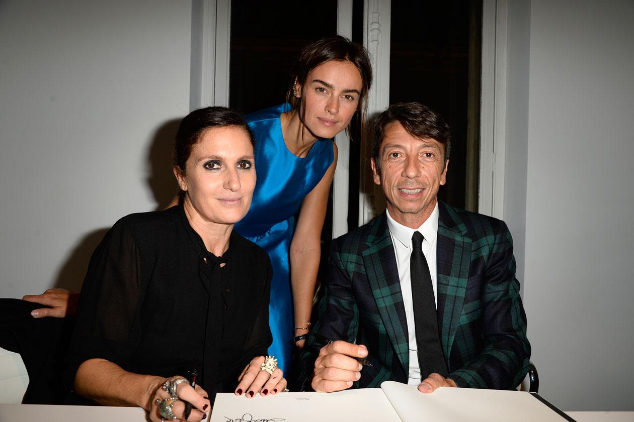 Maria Grazia Chiuri;Kasia Smutniak;Pierpaolo Piccioli (2)