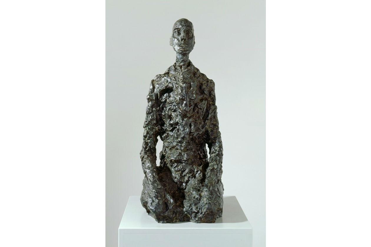 Alberto Giacometti; Lothar III; sculture; filiformi; Roma; Galleria Borghese