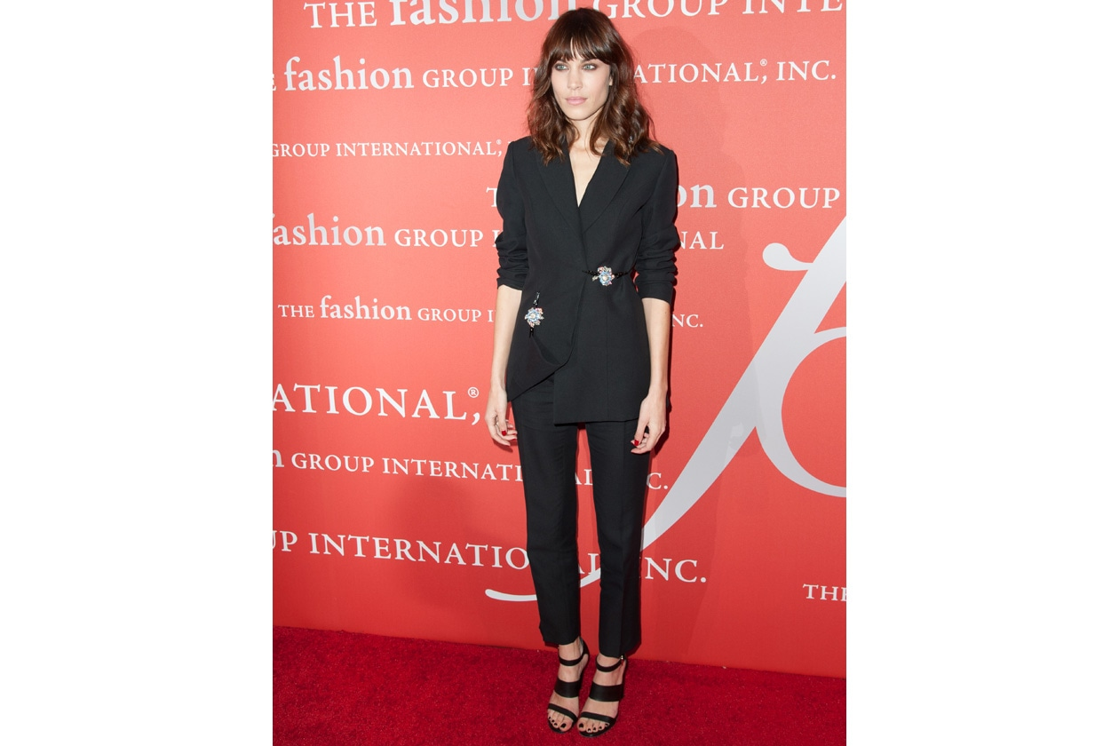 Alexa Chung in Christopher Kane