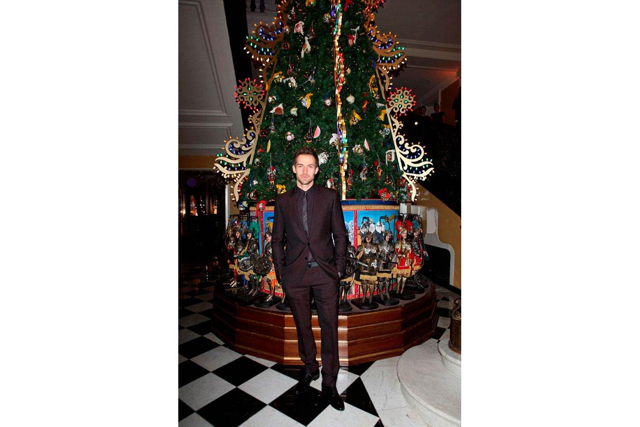 Claridge's Christmas Tree By Dolce & Gabbana ANDREW COOPER