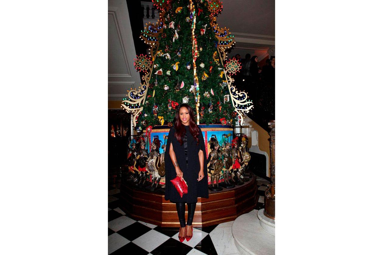 Claridge's Christmas Tree By Dolce & Gabbana Eve