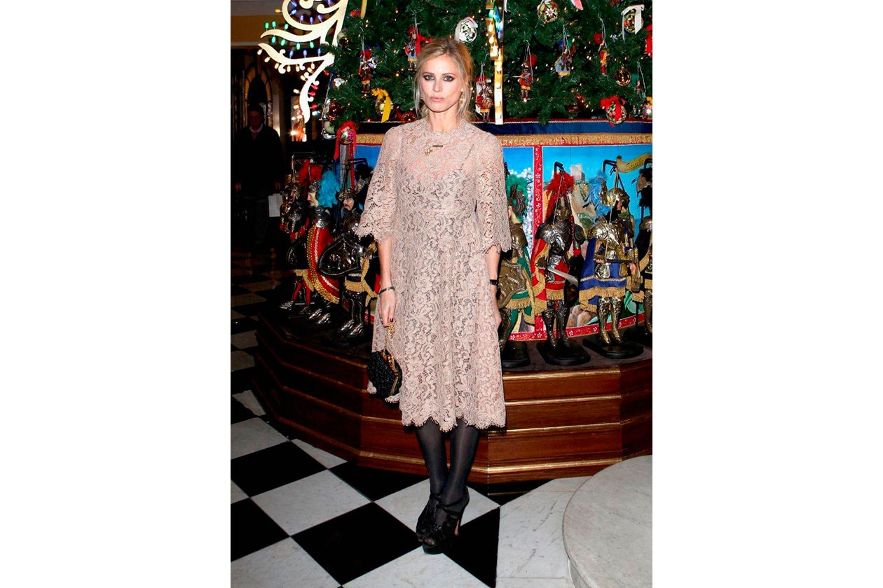 Claridge's Christmas Tree By Dolce & Gabbana LAURA BAILY
