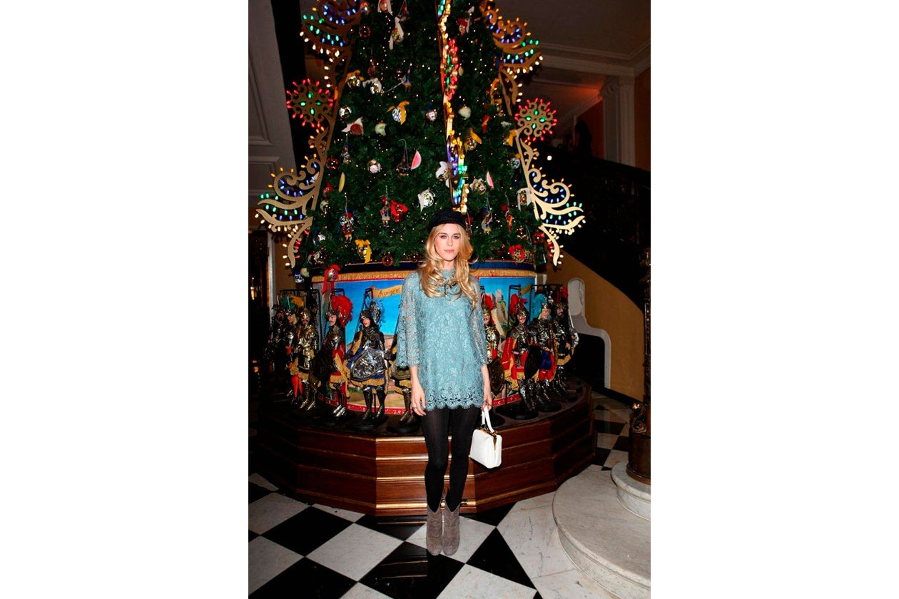 Claridge's Christmas Tree By Dolce & Gabbana MARY CHARTERIS