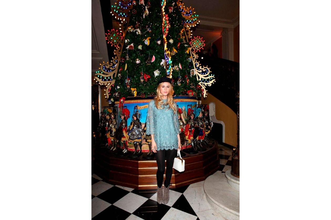 Claridge's Christmas Tree By Dolce & Gabbana MARY CHARTERIS