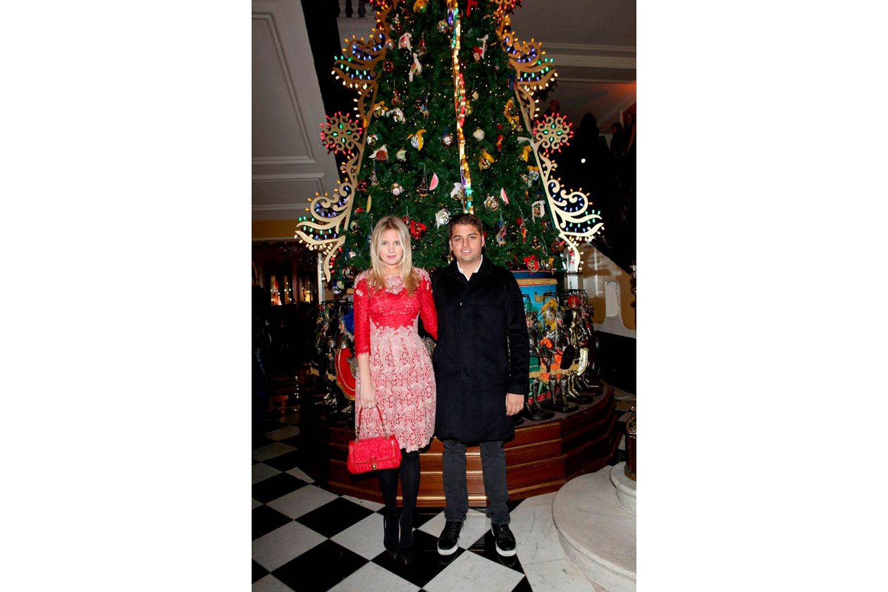 Claridge's Christmas Tree By Dolce & Gabbana Marissa Montgomery & Jamie …