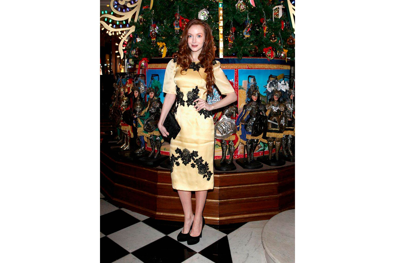 Claridge's Christmas Tree By Dolce & Gabbana OLIVIA GRANT