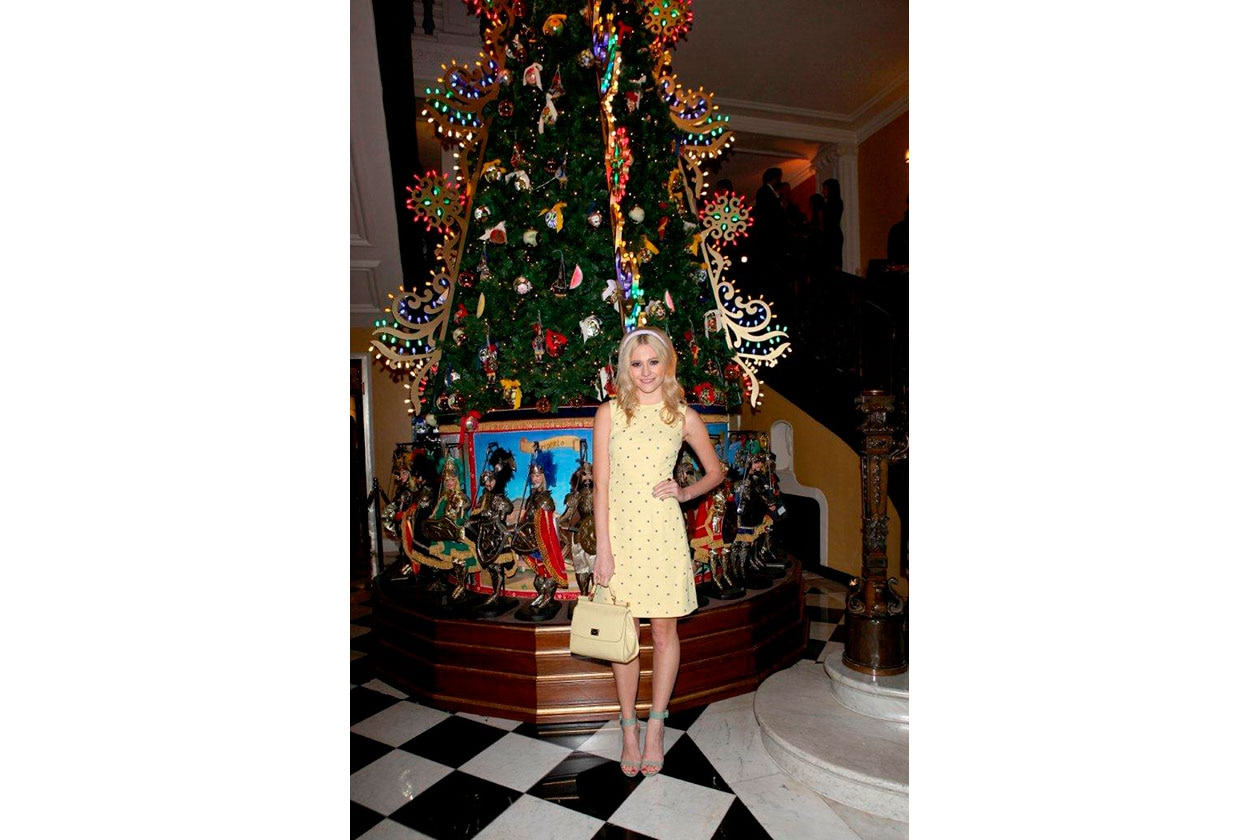 Claridge's Christmas Tree By Dolce & Gabbana PIXIE LOTT