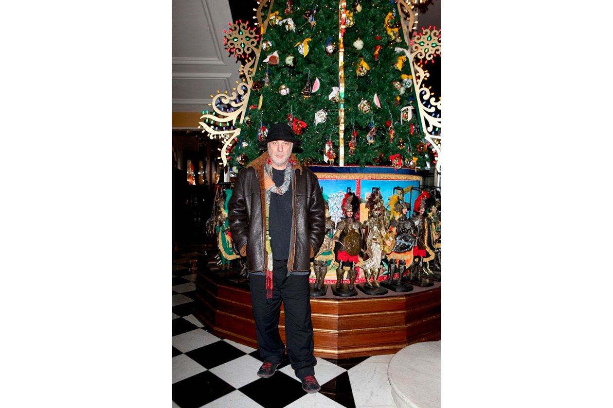 Claridge's Christmas Tree By Dolce & Gabbana RON ARAD