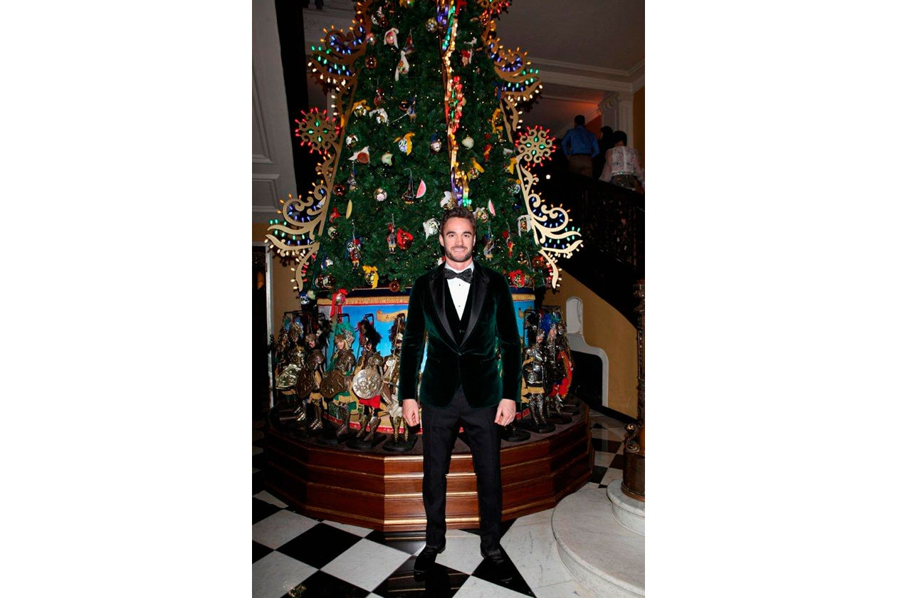 Claridge's Christmas Tree By Dolce & Gabbana TOM EVANS
