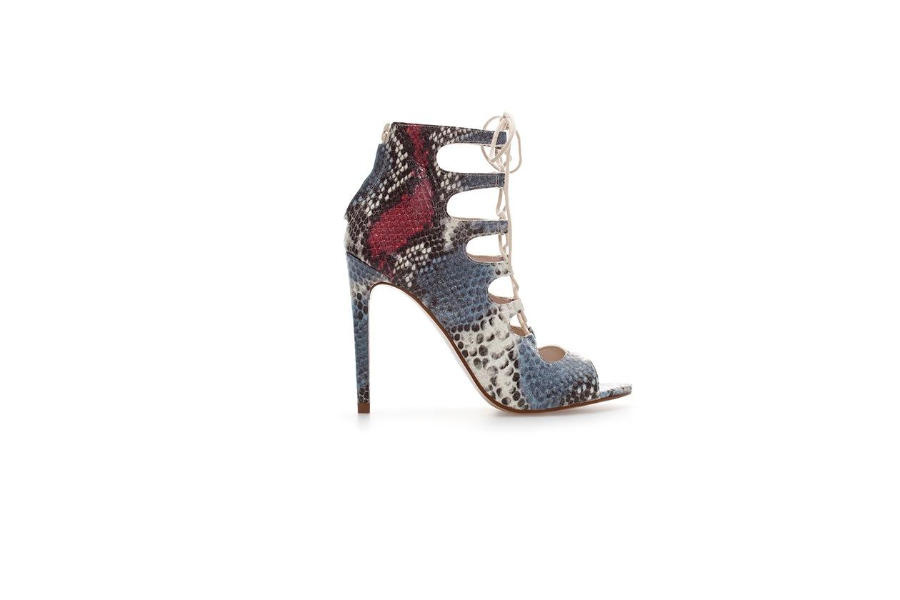 Fashion Winter sandals Zara