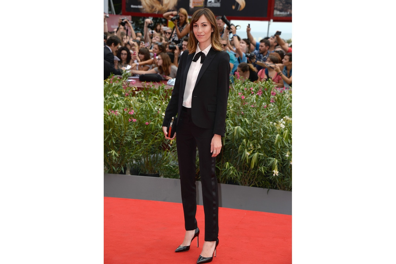 Gia Coppola in Saint Laurent at the Premiere of Palo Alto