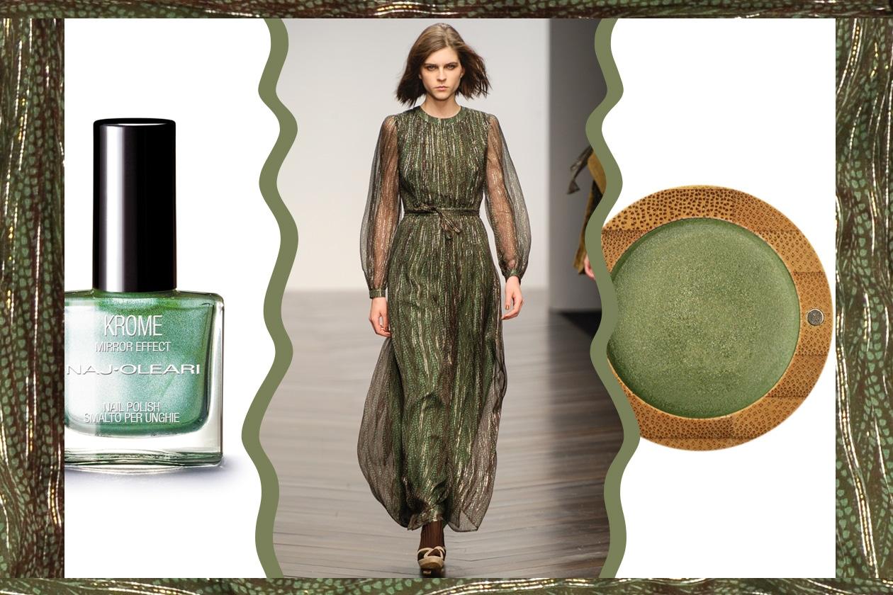 MIX&MATCH: il verde per le occasioni più importanti porta la firma di Issa London (Naj Oleari, Zao)