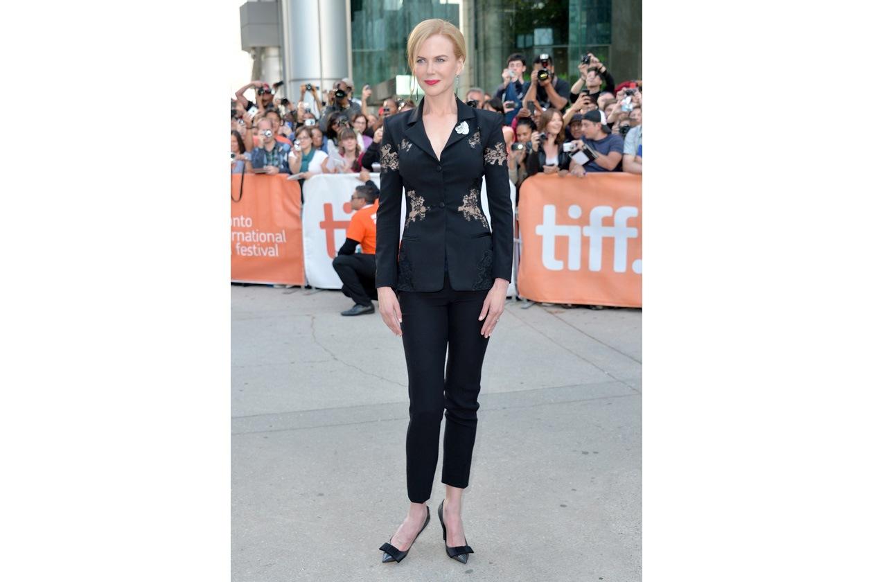 Nicole Kidman in Altuzarra con inserti in pizzo