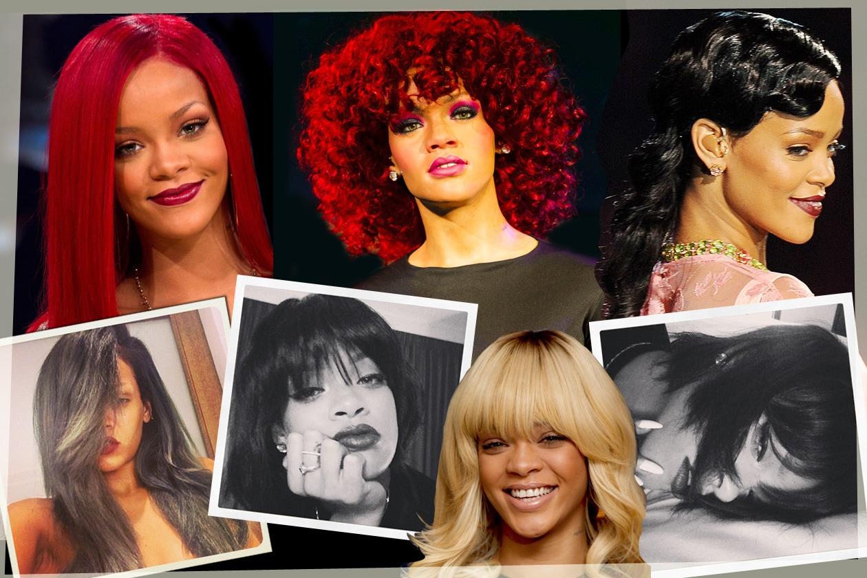 Capelli: Rihanna e i suoi hairstyles