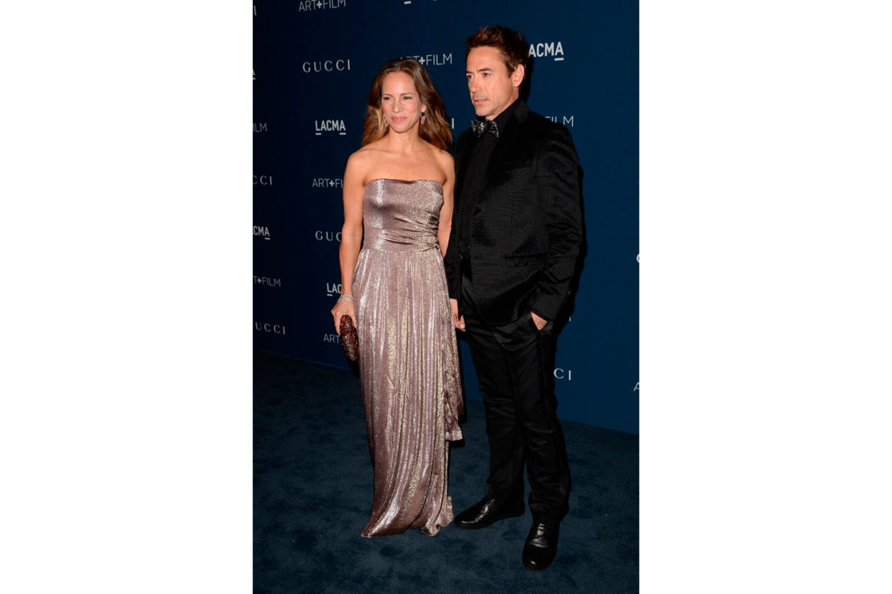 Robert Jr e Susan Downey