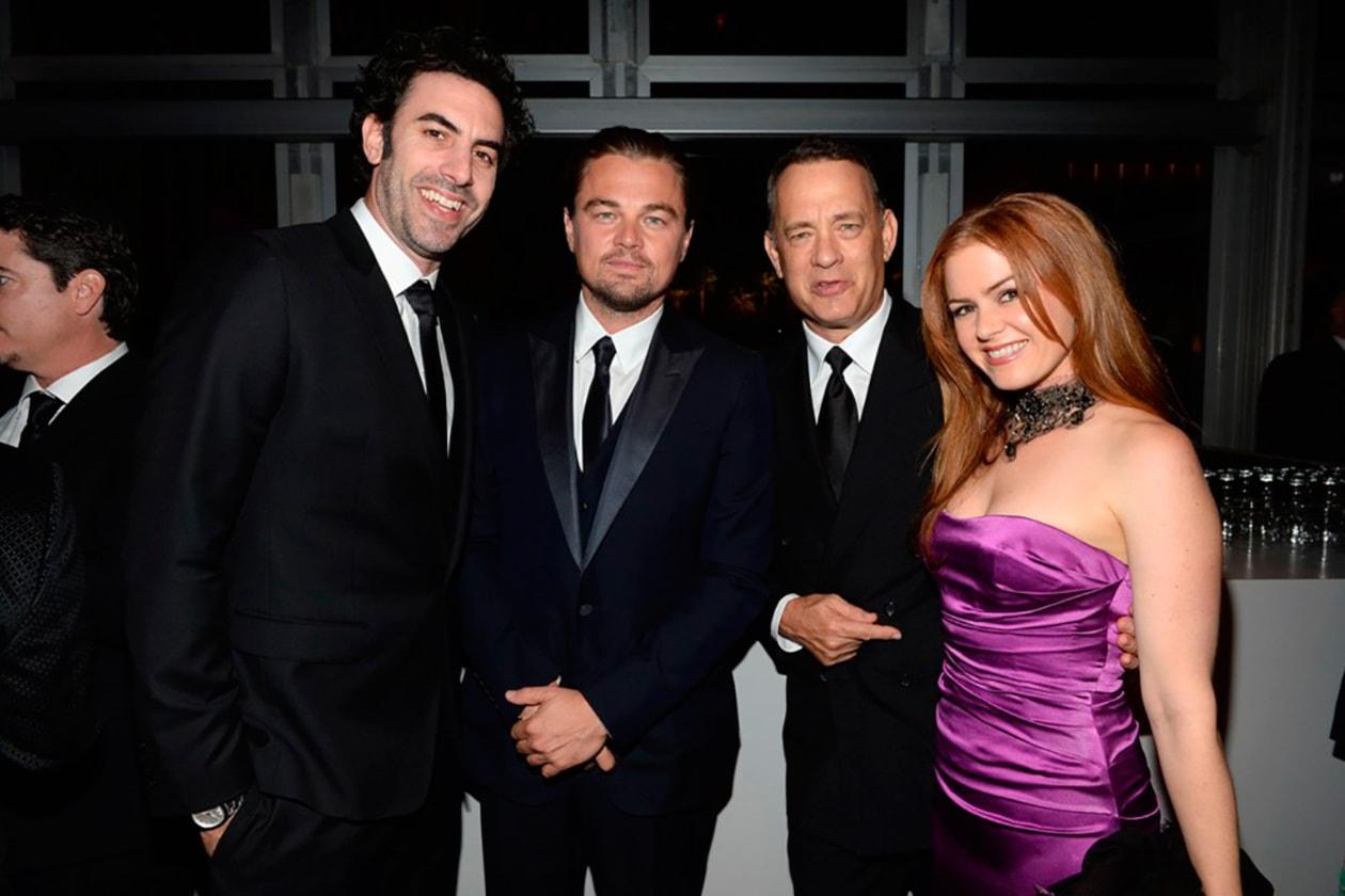 Sacha Baron Cohen, Leonardo DiCaprio, Tom Hanks, Isla Fisher
