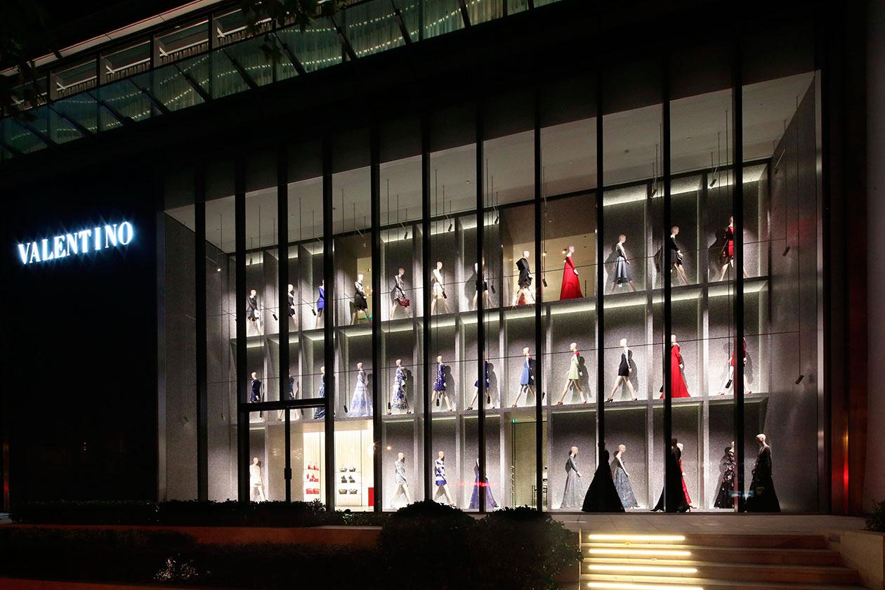 Valentino Shanghai Flagship 1