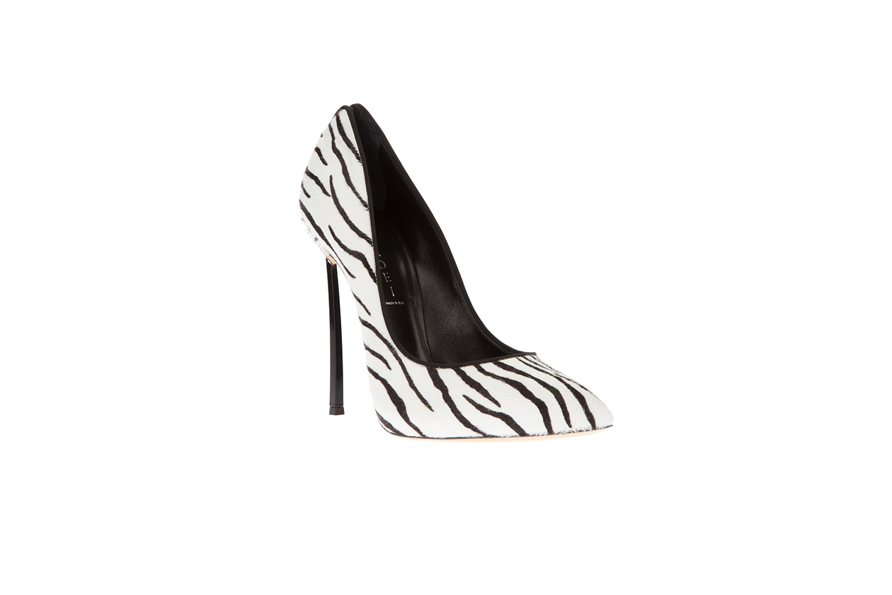 Fashion Toplist Animalier pump zebrata casadei