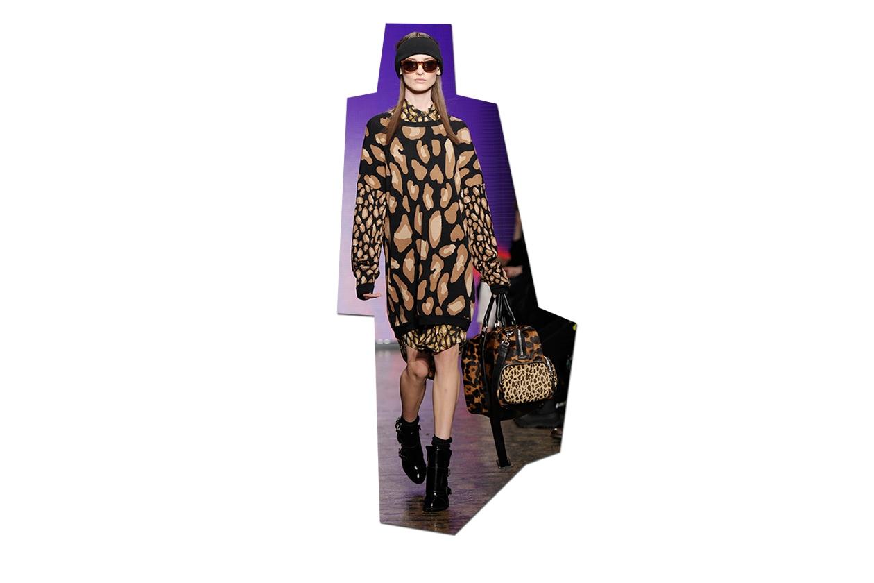 Fashion Toplist Animalier DKNY ful W F13 N 034