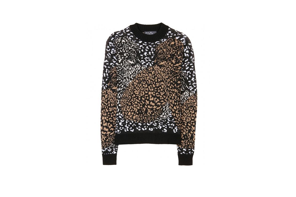 Fashion Toplist Animalier pullover salvatore ferragamo