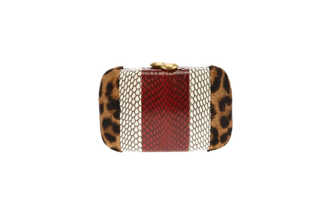 Fashion Toplist Animalier serpui marie clutch